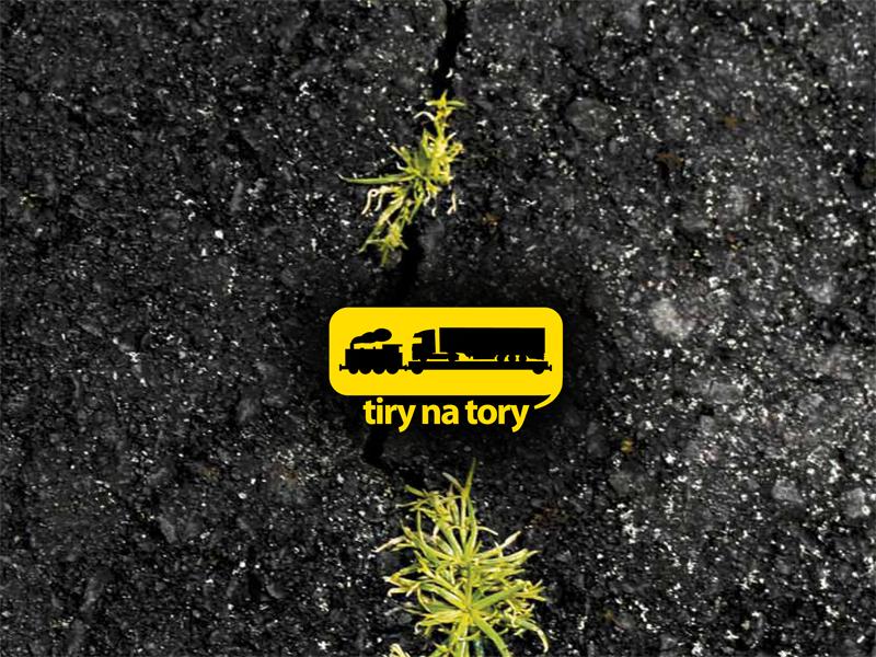 """Raport """"Tiry na tory – towary na kolej"""""""