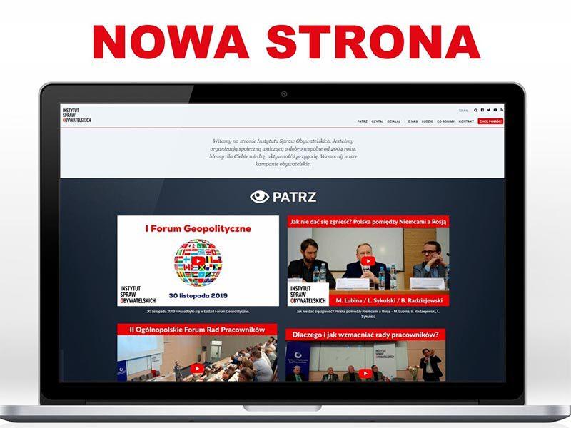 Zapraszamy na naszą nową stronę