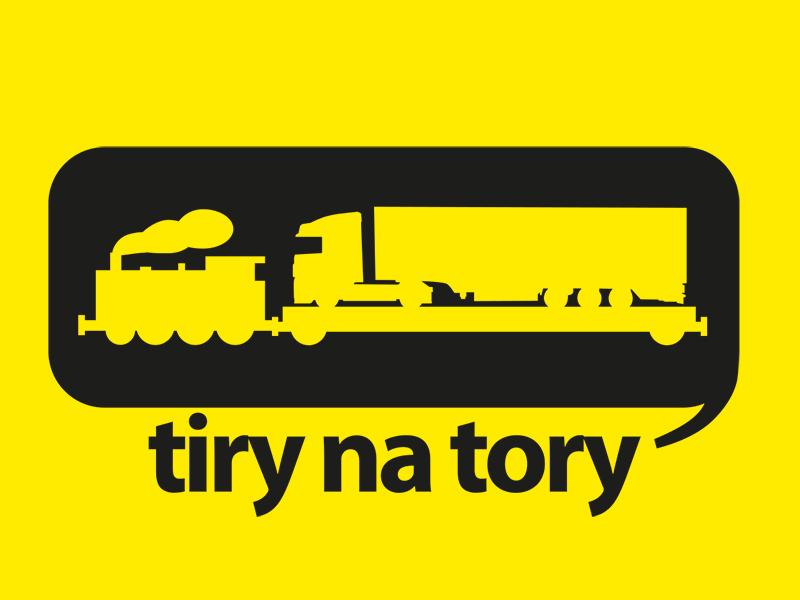 Logo TNT żółte